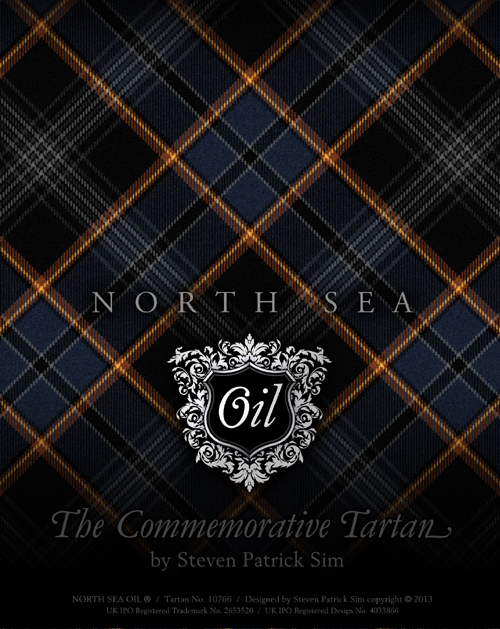 North Sea Oil Neck Tie